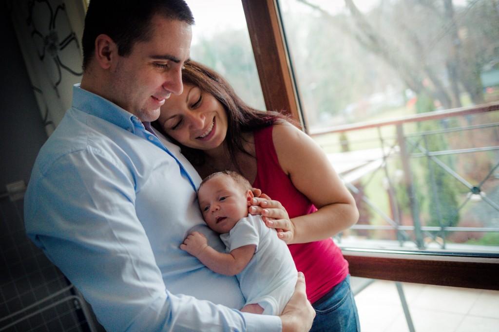 Семейна фотосесия на открито