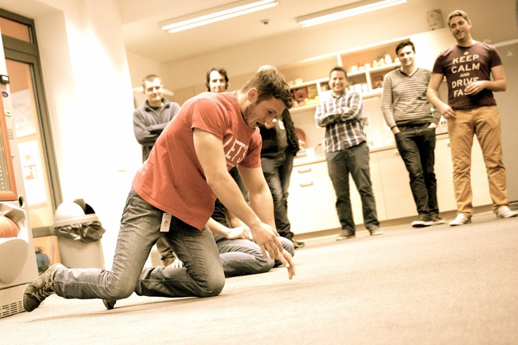 PushUp Competition at eCommera
